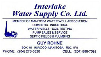 Interlake Water Supply Company