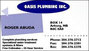 Oasis Plumbing Inc.